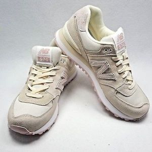 New Balance 574 Shattered Angora Faded Rose Pearl